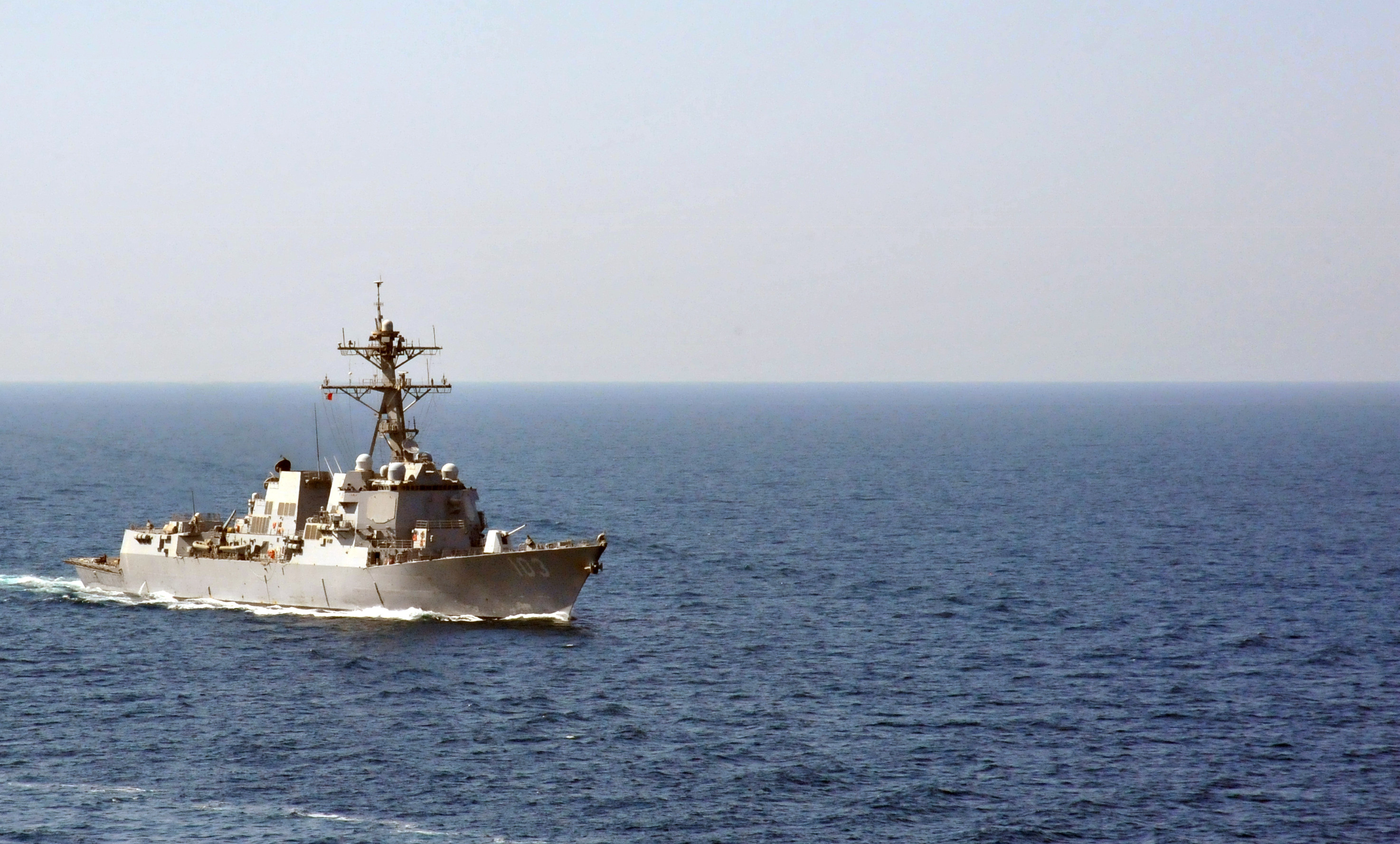 USS Truxton (DDG-103) on July 9, 2014. US Navy Photo