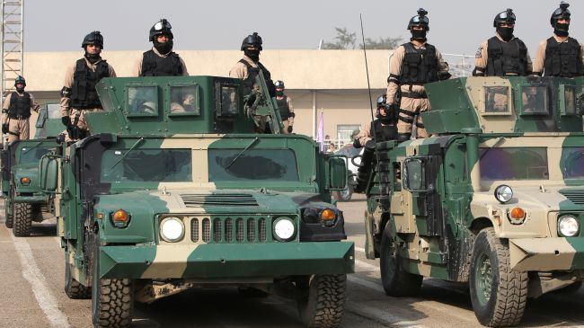 An undated image of Iraqi Security Forces.