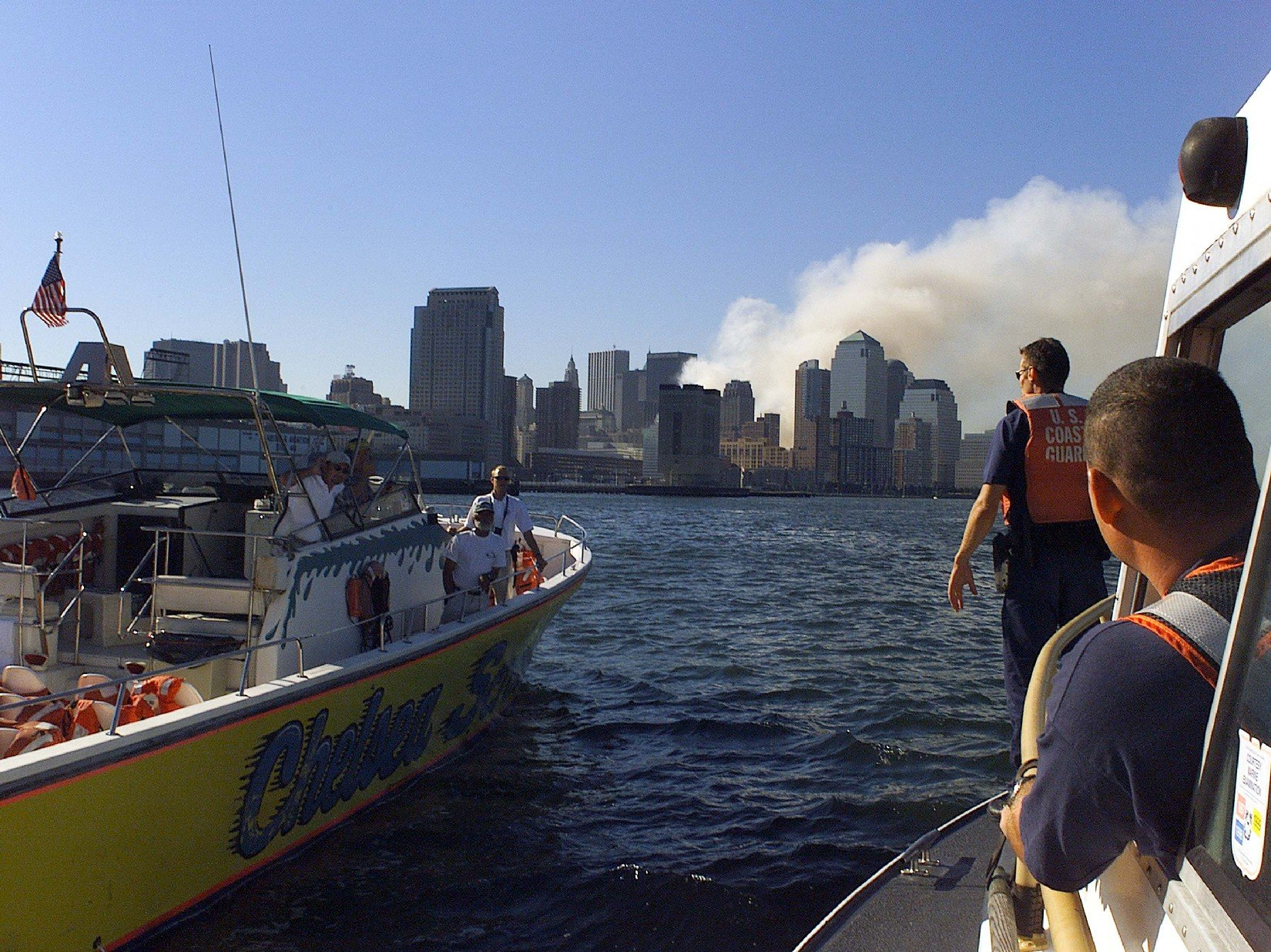 Coast Guard Led 9-11 Water Evacuation Was 'Bigger Than Dunkirk