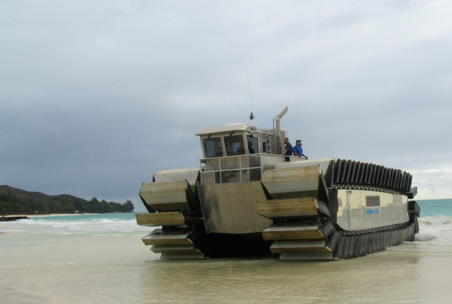 Marines Test Heavy Duty Landing Craft Prototype at RIMPAC