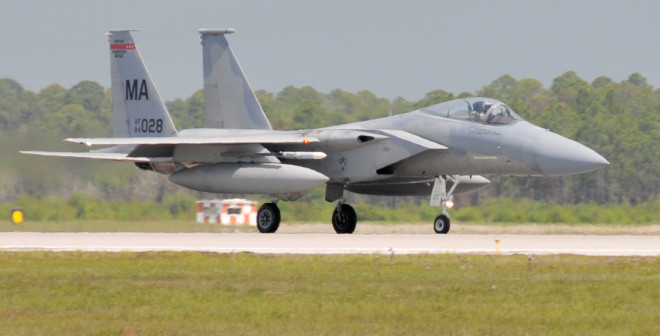 BREAKING: Air Guard F-15C Crashes in Virginia, Pilot Condition Unknown
