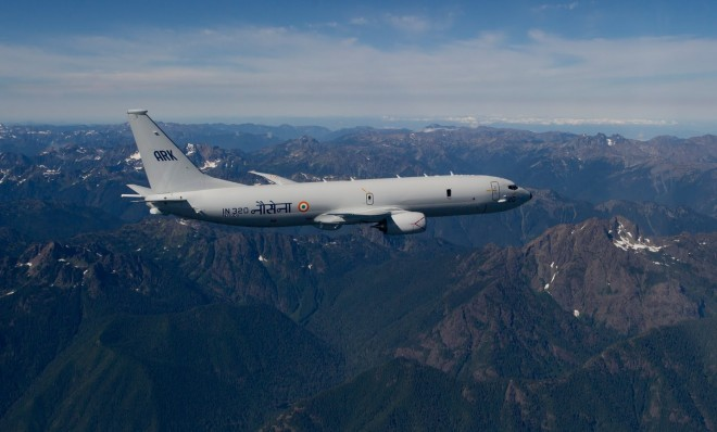 India Awards Boeing $1B Option for Four More P-8I Maritime Surveillance Aircraft