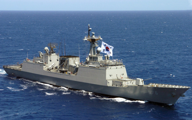South Korean Destroyer Steaming to Libya for Evacuation Operations