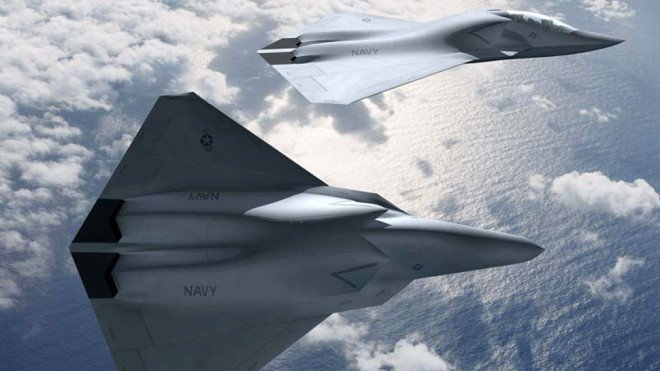 Navy's Next Fighter Likely to Feature Artificial Intelligence