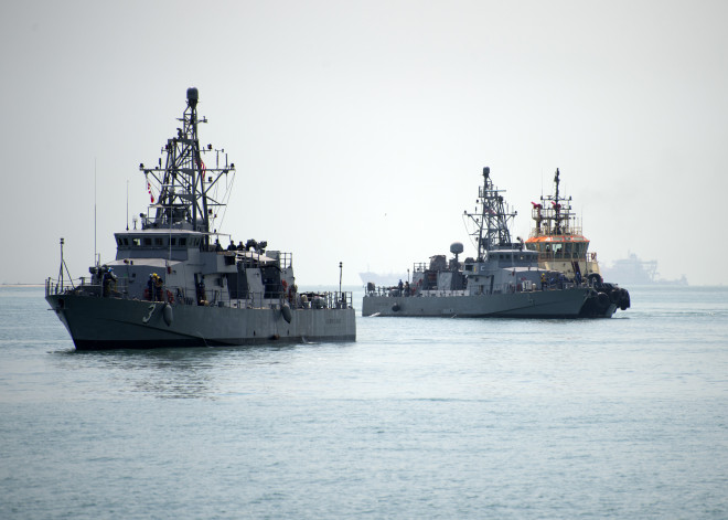Two Final U.S. Navy Patrol Ships Arrive in Middle East