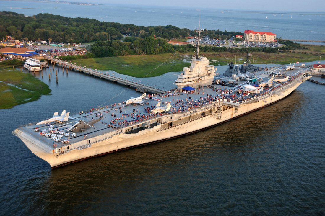 Sunk Scrapped Or Saved The Fate Of Americas Aircraft Carriers - Ship museums in us