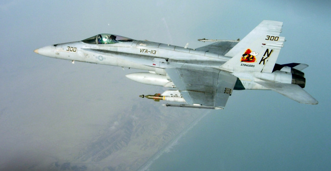 Updated: Two F/A-18C Hornets Collided and Crashed Near Mariana Islands, One Pilot Missing