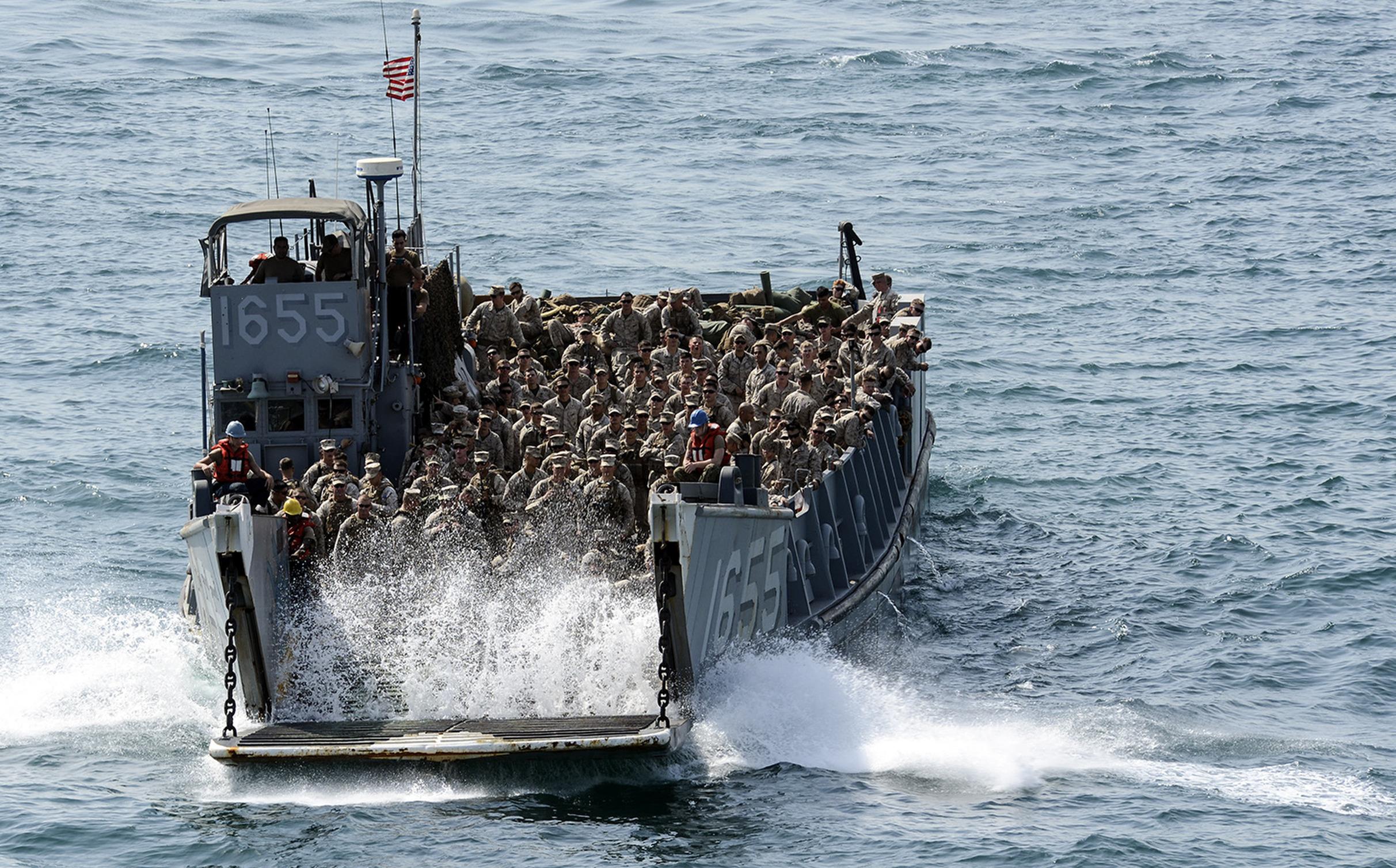 World War  Amphibious Landing Craft