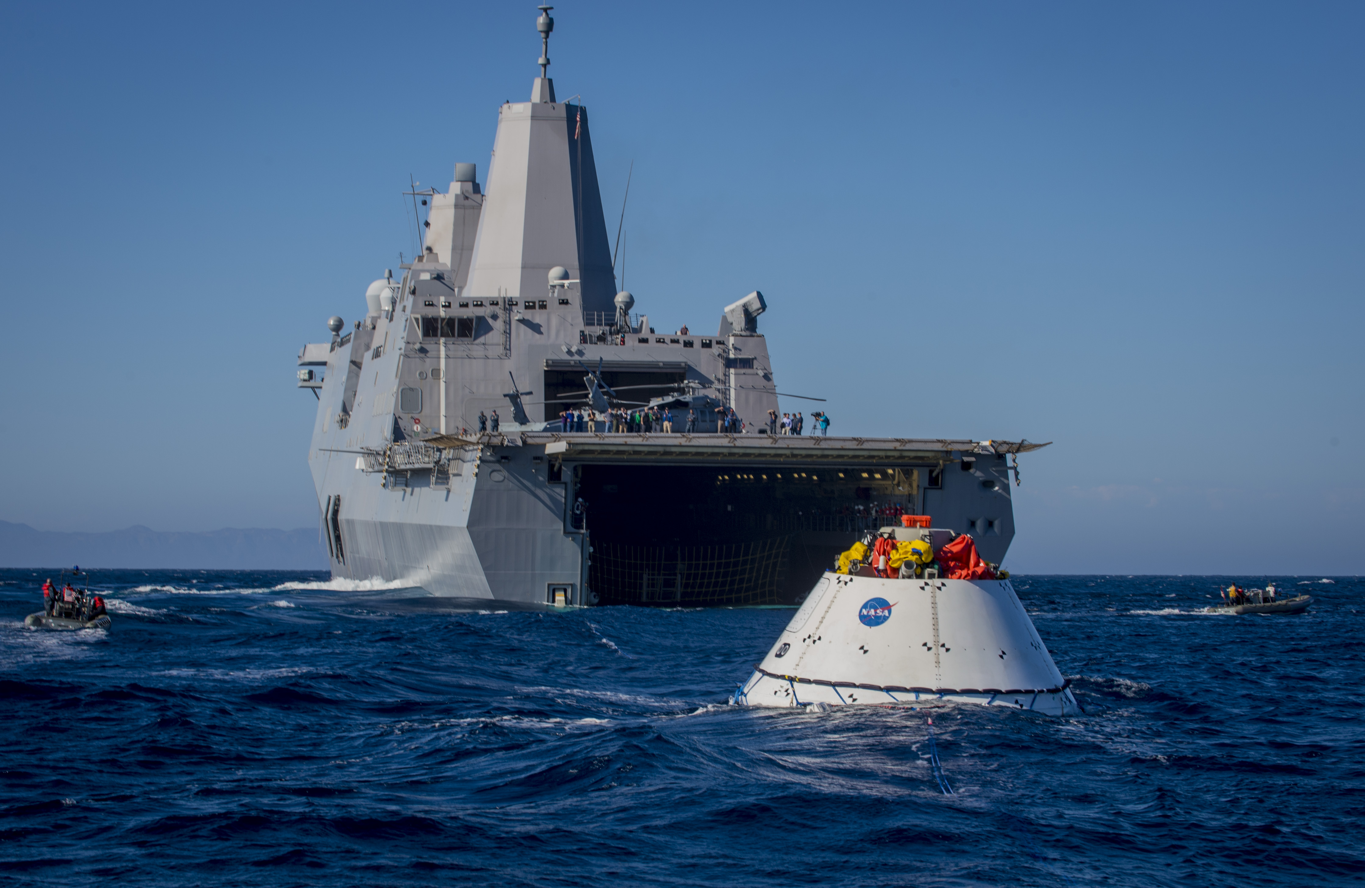 Navy Completes Third Round of NASA Orion Testing - USNI News