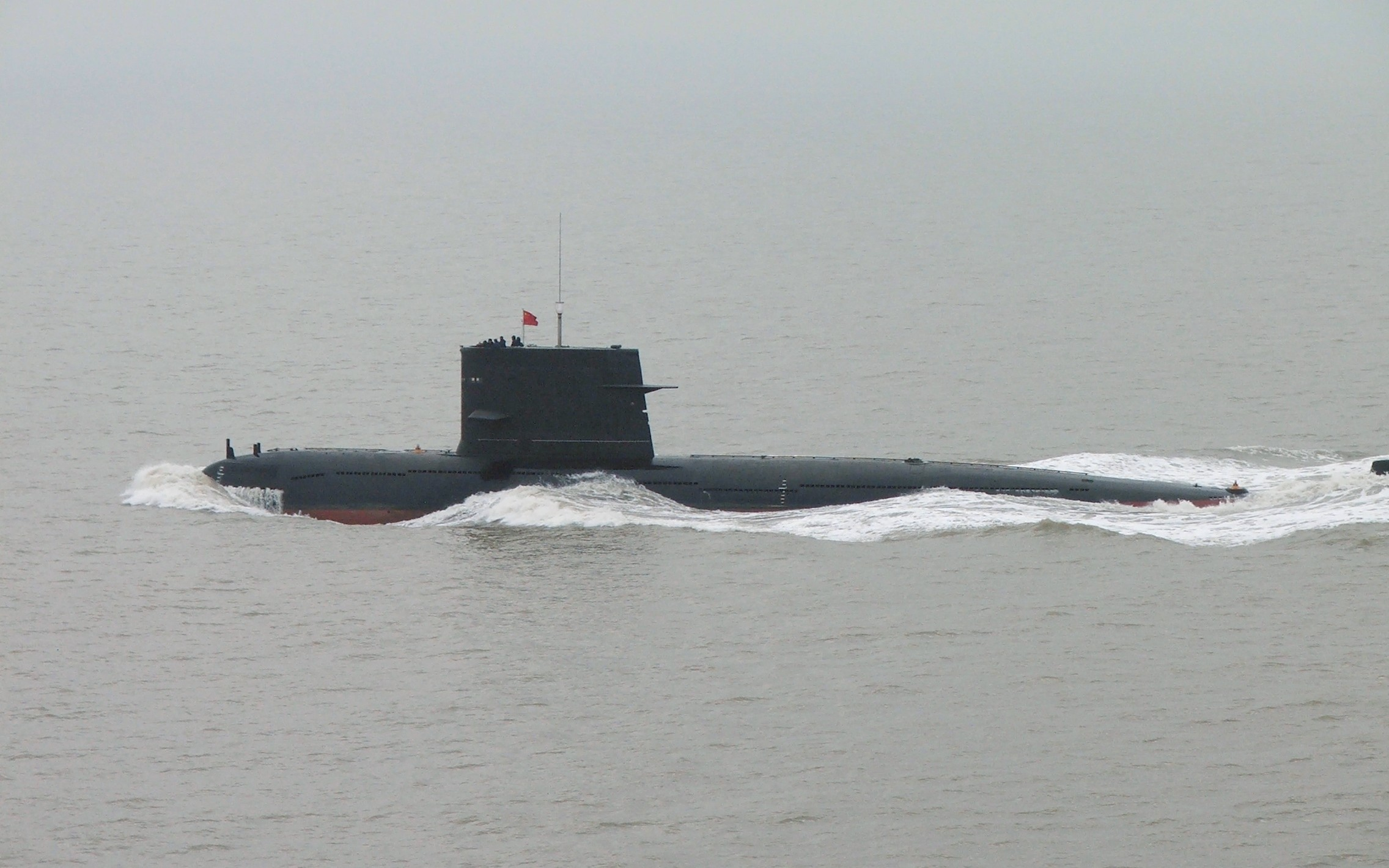 2005 Image of a PLAN Song-class submarine. Via Wikipedia