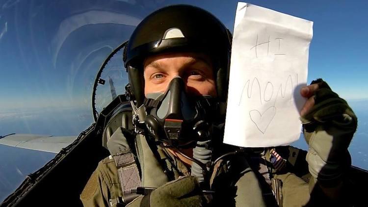 Lt. Nathan Poloski in 2012. Nathan Poloski Photo via LA Times.