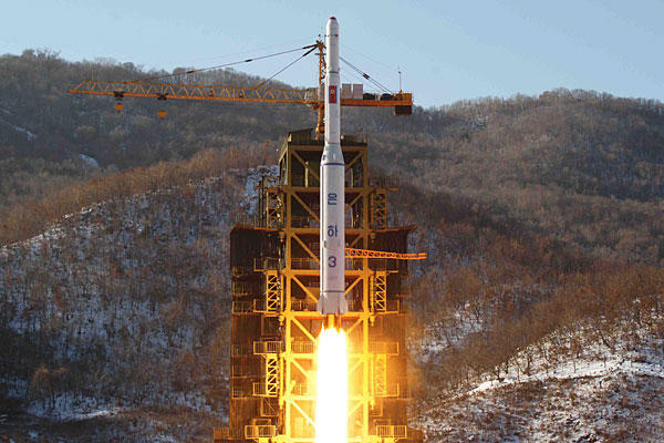 2012 North Korean missile test.