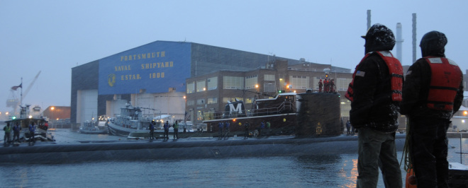 CBO: Attack Submarine Repairs are Cheaper at Private Yards