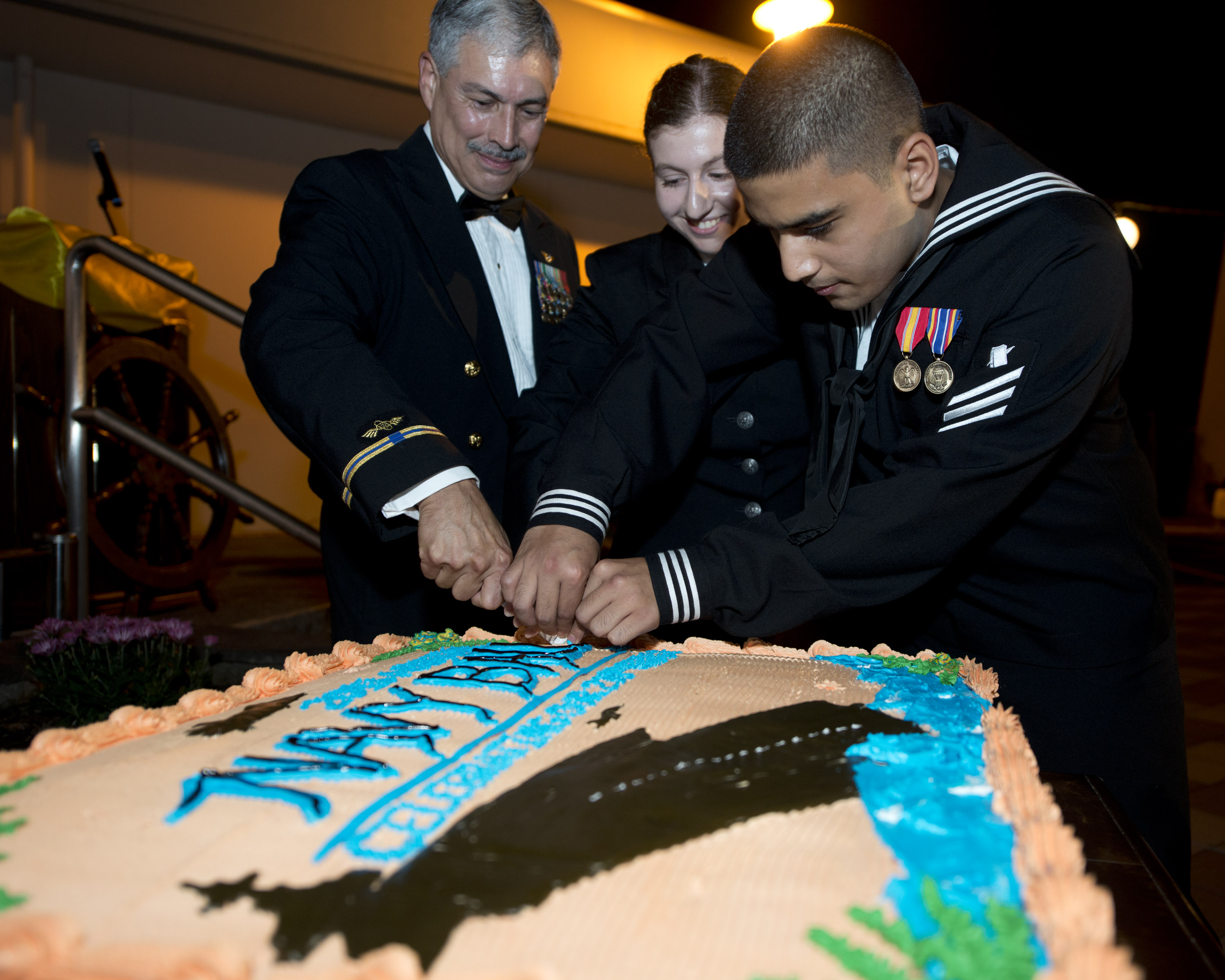 US Navy Turns 239 Pass the Cake USNI News