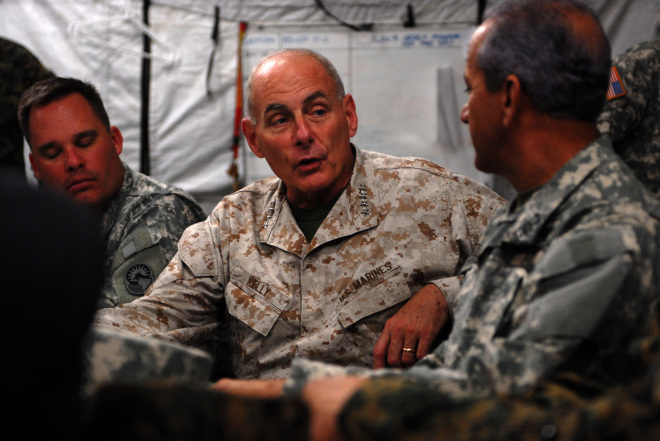 John Kelly, Retired Marine 4-Star, Will Step Down as White House Chief of Staff