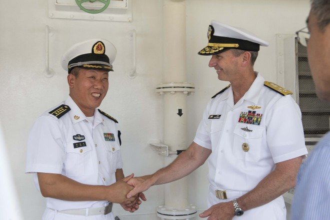 CNO Greenert: U.S. Navy Needs to Engage More With China