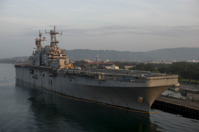 Five U.S. Ships Held In Philippines Following Alleged Murder