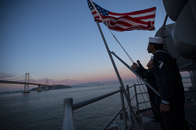 First in New Class of U.S. Amphibious Warship Commissions on Saturday