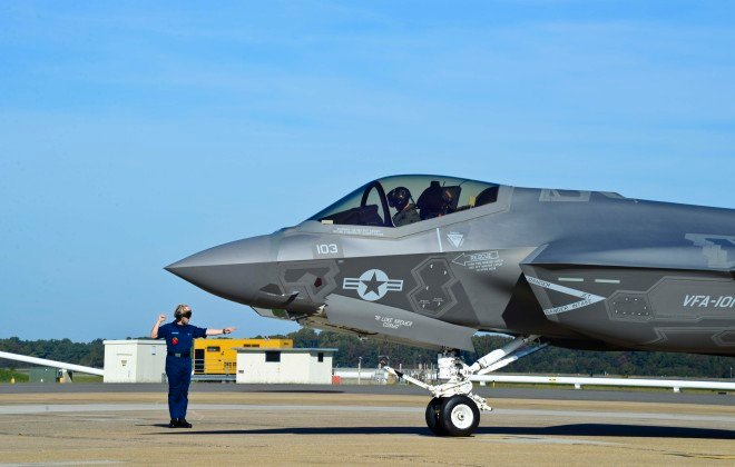 F-35C's First Carrier Landing Scheduled for Next Week