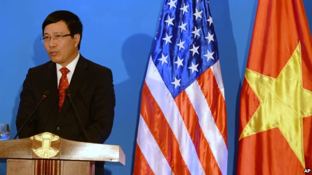 Deputy PM Minh: 'No Two Countries Have Worked Harder' To Repair Relations Than U.S. And Vietnam