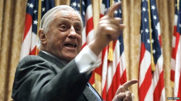 Ben Bradlee. Photo via BBC