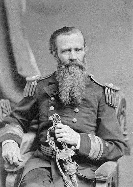 Rear Adm. Worden in 1873