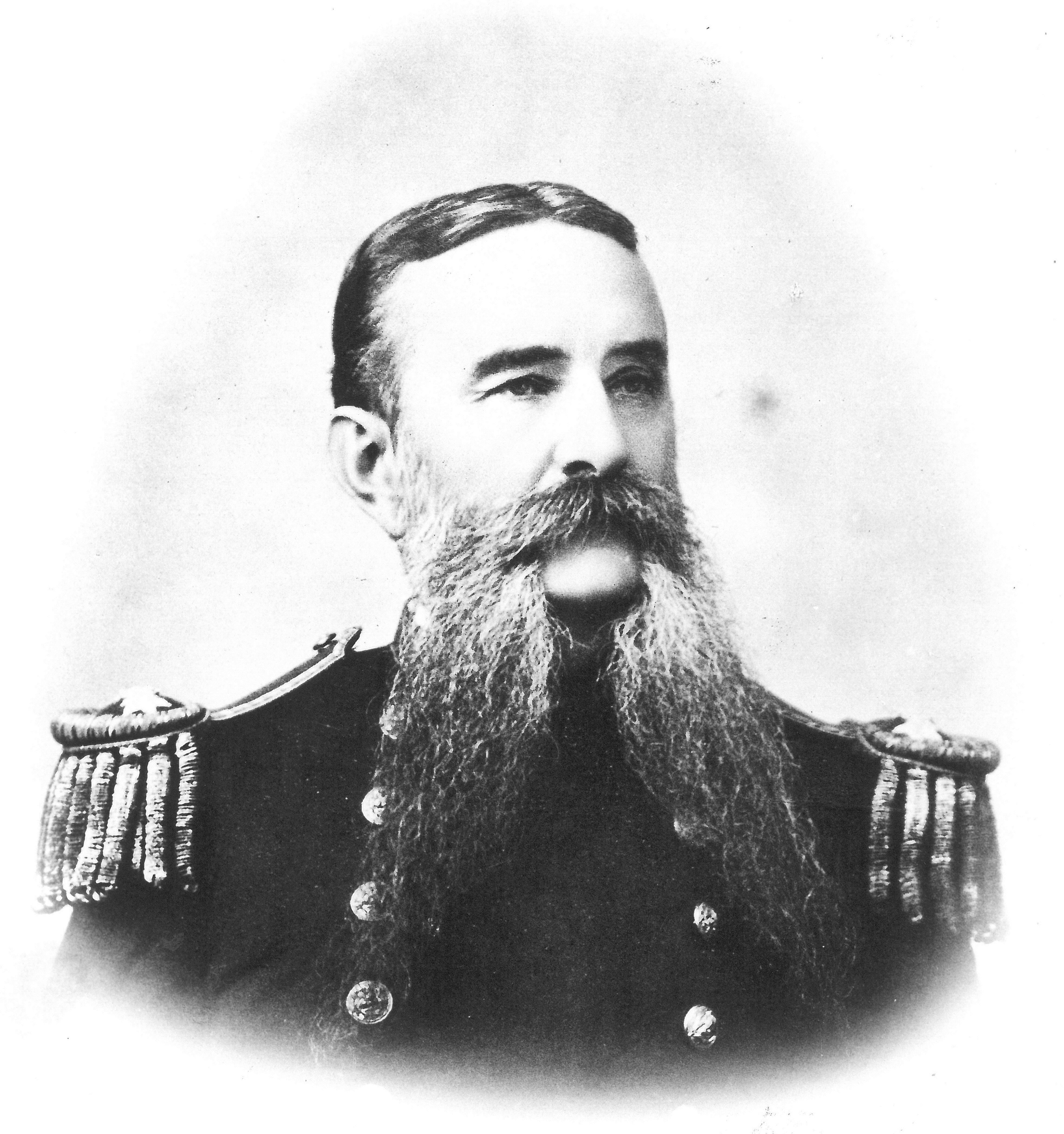 Rear Adm. John G Walker in 1889