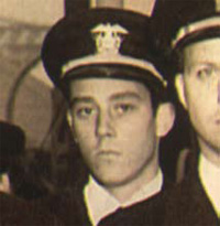 Ben Bradlee as a naval officer