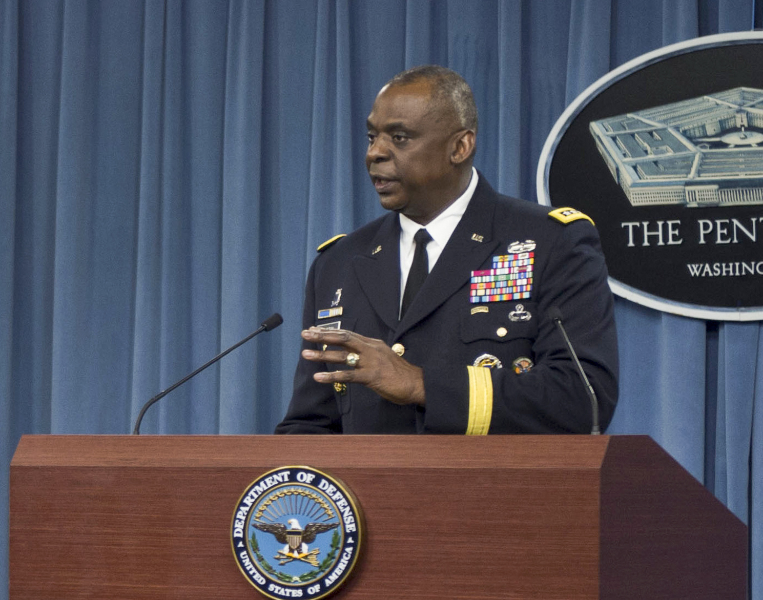 U.S. Central Command Casts Doubts On Claims ISIS Operating