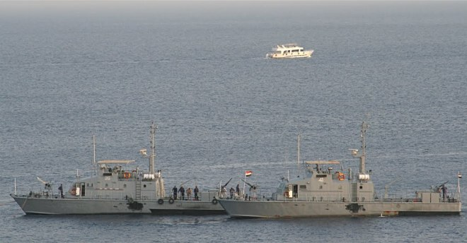 Egyptian Patrol Craft Attacked by Ships with Possible Ties to Terrorist Arms Trade