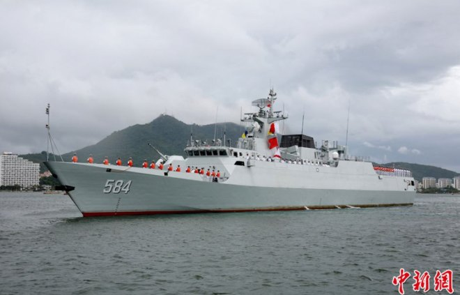 China Commissions New Sub Hunting Corvette