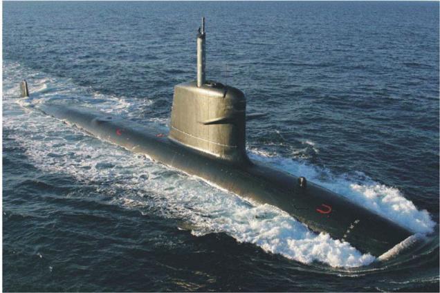 Scorpène-class submarine