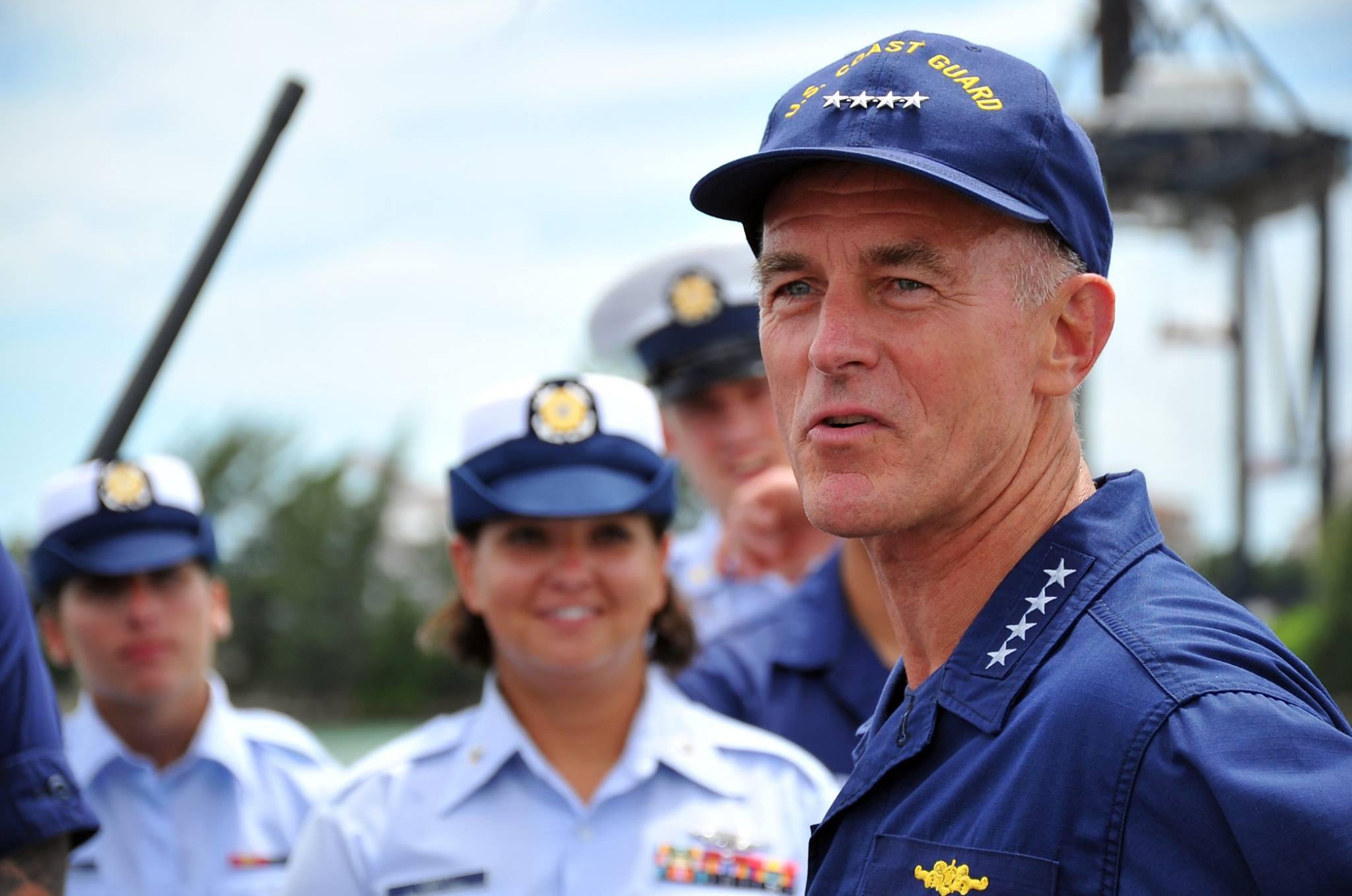 USCG commandant Adm. Paul Zukunft. US Coast Guard Photo