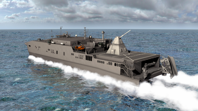 NAVSEA Details At Sea 2016 Railgun Test on JHSV Trenton