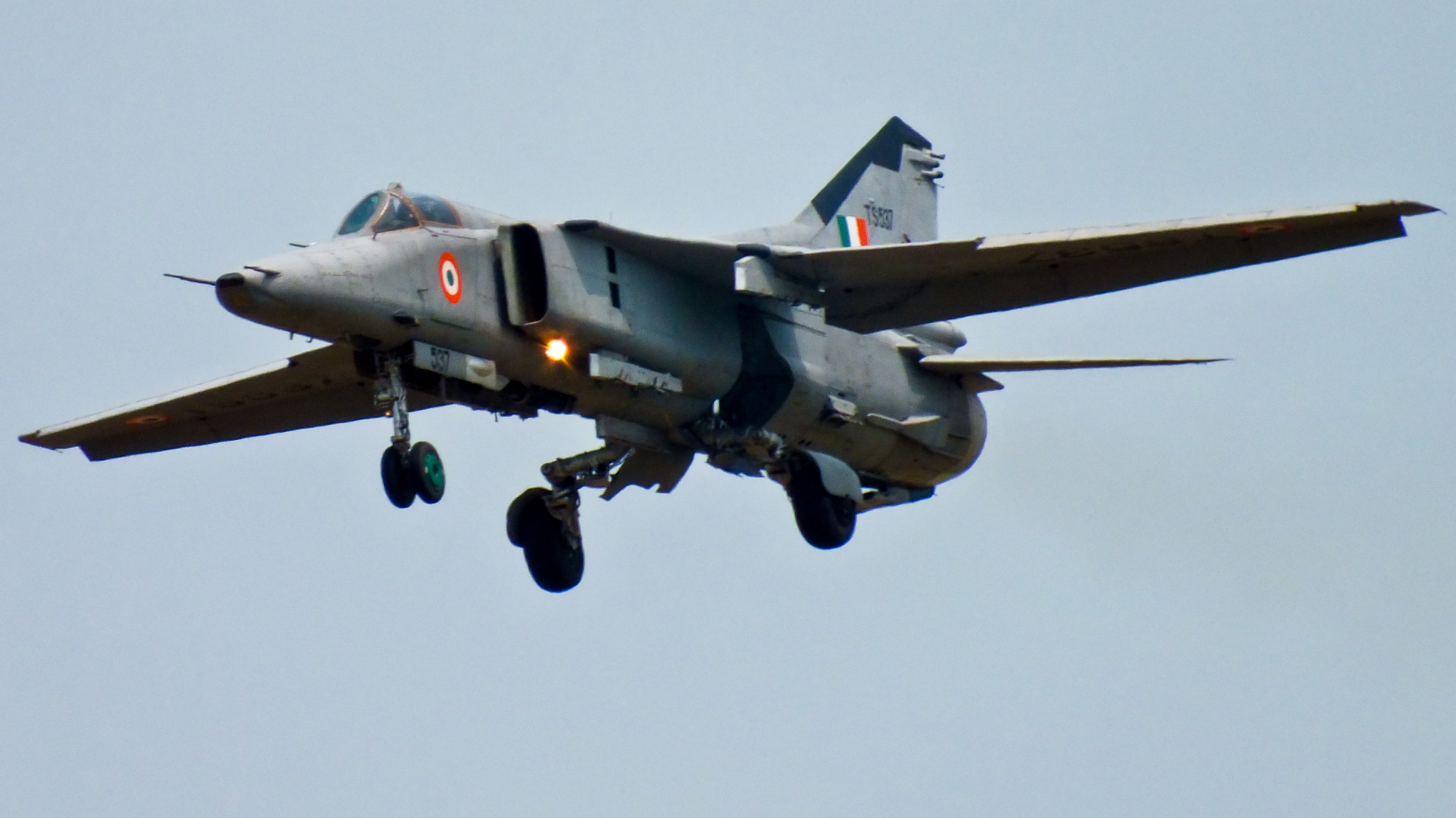 An Indian Air Force MiG-27K.