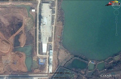 Chinese Carrier-On-Land Facility Adds Destroyer