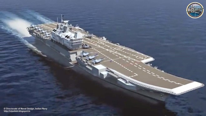 U.S., Indian Officials Set to Discuss Aircraft Carrier Design in June