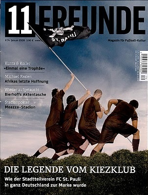 11 Freunde magazine from Germany, 2006