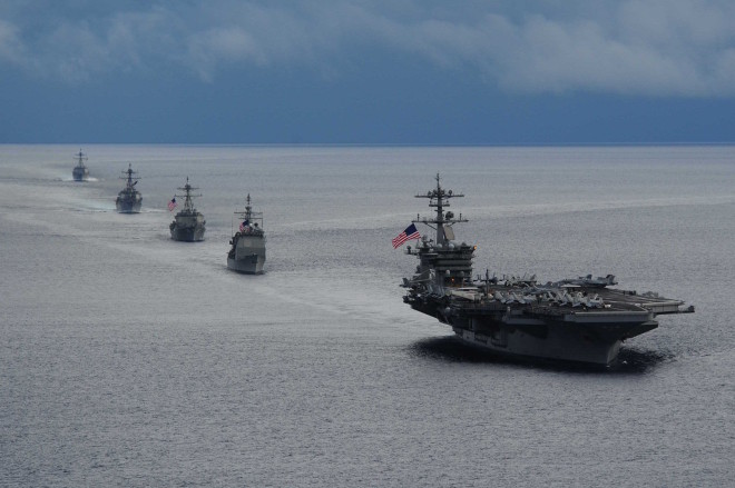USS Theodore Roosevelt Deployment Delayed by Clogged Seawater Intake Valve