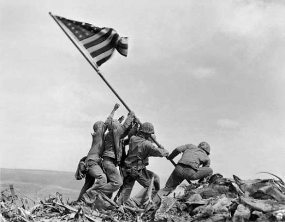 The Iconic Image from Iwo Jima: The Most Reproduced and Parodied Photo in History?