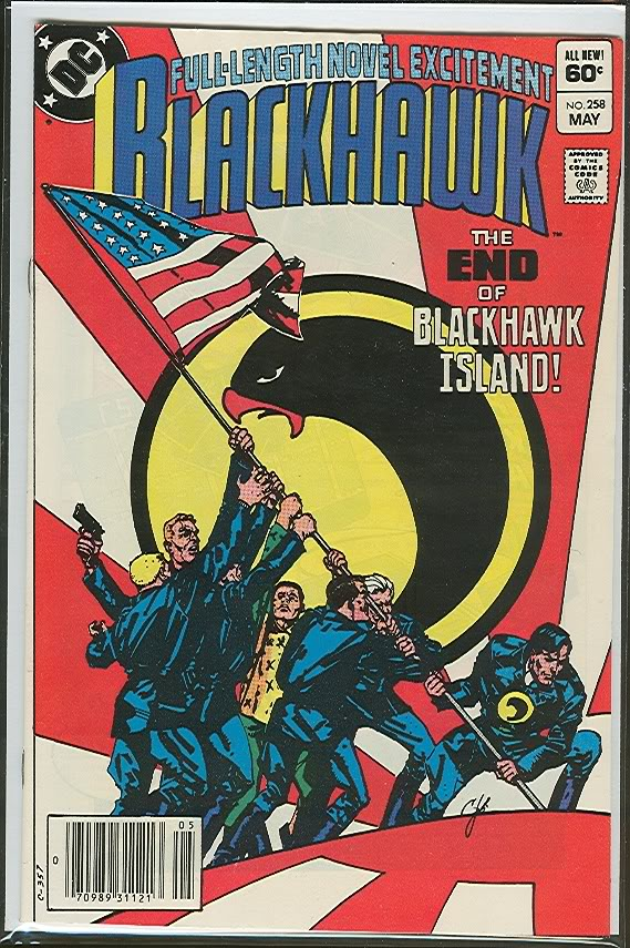 Blackhawk comic, 1983