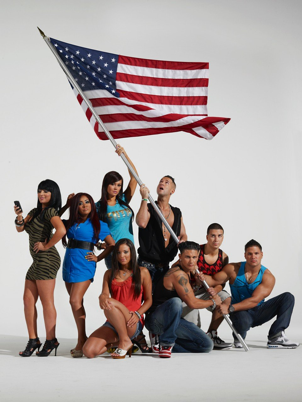 Newsweek promotional photo for The Jersey Shore