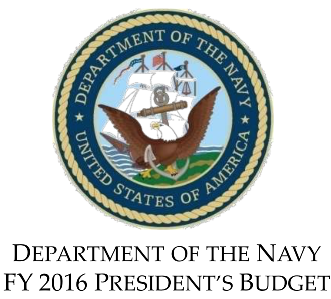 Document: Department of the Navy Fiscal Year 2016 Briefing Slides