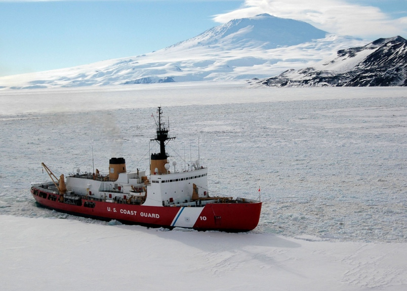 USCGC Polar Star (WAGB-10) in 2006. US Coast Guard Photo