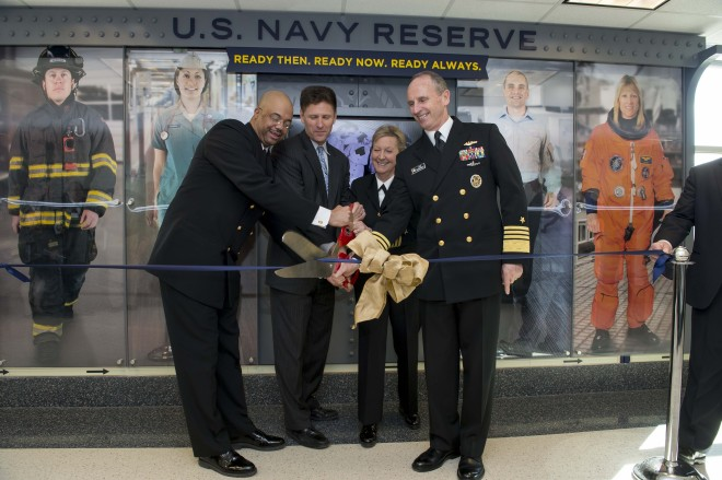 Navy Kicks Off Year-Long Celebration of Navy Reserve Centennial