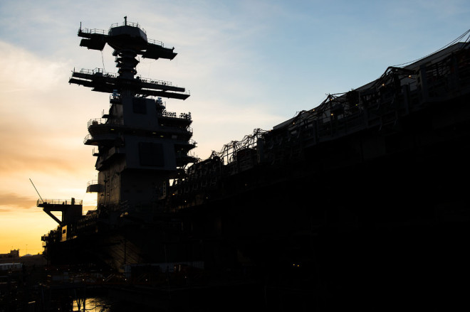 PEO Carriers: CVN-79 Will Have a New Radar, Save $180M Compared to Dual Band Radar