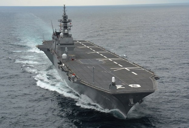 Report: Japan's Largest Warship Heading to South China Sea, Will Train With U.S., Indian Navies