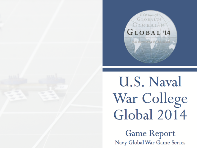 Document: U.S. Naval War College Global 2014 Game Report