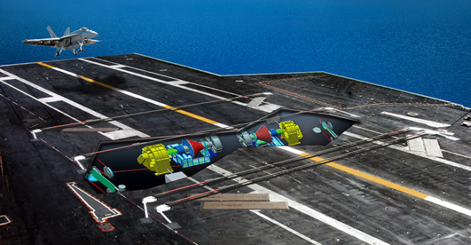 Navy Sticking With Advanced Arresting Gear in Next Carrier