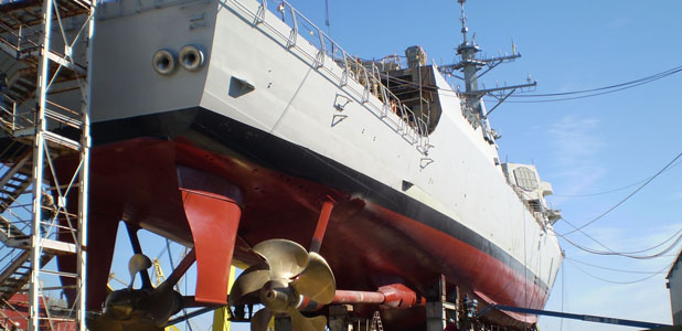Ingalls Shipbuilding Launches First Ship Since Destroyer Program Restart